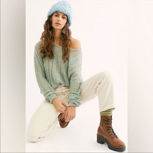 Free People Angel Soft Pullover Knit S L